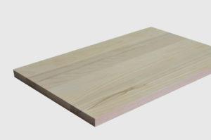 из ламели цельных основные толщины: 20, 26, 32, 40 мм